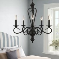 Birchview 5 - Light Candle Style Classic / Traditional Chandelier