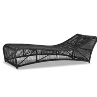 Absolute comfort is provided with its generously-sized frames and advanced seating support. The size of the pieces is visually lightened with the thoughtful striated rope design, clean lines, and perfectly placed angles. Crafted in the highest quality comfort and durability, it will stand the test of time with minimal maintenance. Its powder-coated aluminum frame is expertly wrapped with premium all-weather acrylic rope in a steel grey finish. Weather-resistant, high-resilient density cushions...