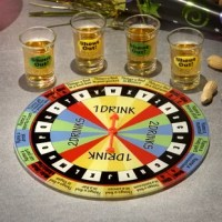 Place your bets and take your chances - no matter what happens, everyone wins in this fun drinking game of chance! Liven up your next gathering with a friendly product.