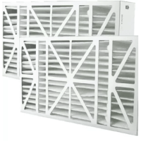 Pre-assembled filter for easy installation! High-efficiency filter media collects small dust particles before they can collect on your coils. Superior frame strength utilizing double wall construction and die cut fingers. This is an aftermarket filter.
