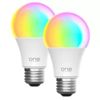 Upgrade the way you light your home with these 9w color changing smart bulbs by one power. Conveniently control your lights with a touch. Using the smart life app on your smart phone you can choose your color, dim your lights, group them together, create a schedule and more.  With over 1600 color options we guarantee you will be able to the perfect fit for any mood. Additional temperature controls allow for the perfect light with reduced strain on your eyes. 9 Watt bulbs are both illuminating...
