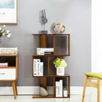 The open layer design of this shelving storage cabinet makes it ideal for small items, such as toys, pens, plants... The design makes it a good decoration.