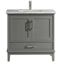 Anchor your bathroom is clean, transitional style with this 36