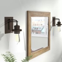 When it comes to good lighting, your fixture can make it or break it. Find the light you love with this wall sconce! Crafted from stainless steel, it affixes to your wall on a square plate, while a neutral hue allows it to blend with your existing color scheme. One arm supports a glass cone shade that diffuses light from any medium-base bulb up to 100 W (not included), ideal for brightening up your space in industrial style. Plus, this product is backed by a one-year warranty.