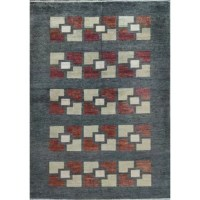 Classic Gabbeh designs have been given a contemporary update to create a line of genuine hand loomed wool rugs that will brighten up any room. The naturally tonal variations of these simple geometrics produce a delightful sense of texture.