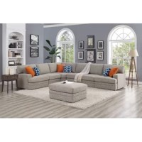 Rest and relax with thesectional. Whether you're relaxing alone or hanging out with friends and family, you can count on the comfortable sectional sofa.