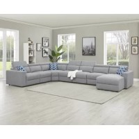 This collection provides a great level of comfort for your rest and relaxation needs. Whether you're hosting friends or relaxing with family, you can rest assured that this sectional sofa has your back.