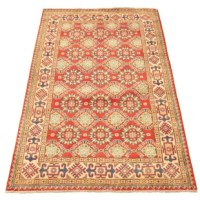 The finest handwoven rugs made by Uzbek Afghan master weavers.