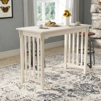 Araceli Counter Height Solid Wood Dining Table