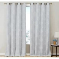Looking to add a dash of elegance to your living spaces while improving comfort? With these Blackout Curtains, the beauty is much more than skin deep. Beyond the stunning design and array of fashionable colors, our lined, insulated curtain panels block out disruptive light and help maintain a comfortable temperature in your home. Light blocking Thermal insulated for heat / cool air retention Premium, lined fabric Beautiful, no-fade printed design Sturdy metal grommets (not plastic) Wide array...