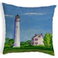 Highland Dunes now offers our colorful artwork on noncorded indoor/outdoor pillows. All noncorded pillows have art printed on both sides for easy reversal. Our pillows are at home enhancing an indoor or outdoor setting and are water and fade resistant for years of enjoyment. Our designs feature artwork by artists R.B. Hamilton and Betsy Drake, and all of our products are proudly made in the USA.