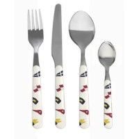 Stylish 24-pc. collection made of top quality materials.