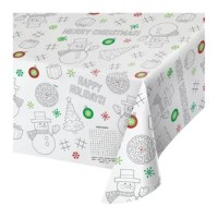 The Christmas paper activity decorates your space and your guests won't be disappointed! This product is the perfect addition to your celebration.