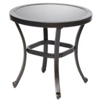 Add enduring beauty, style and grace to your environment with this essential part of any outdoor living space. Made of eco-friendly wicker, this weather-resistant table will be a great accent piece in your backyard or patio. The color is neutral to complement most existing furniture and the hourglass shape gives it a unique flair from the traditional table.