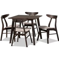 Tamsin 5 Piece Solid Wood Dining Set
