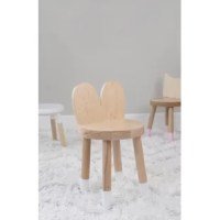 Lola Maple Wood Kids Chair. Lola mixes classic simple design with an animal-inspired twist from ears to white-tipped toes. Whether tucked under a table or placed as an accent in an empty corner, Lola will add an element of design interest. At 12