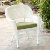 Sure to help you make the most of your outdoor space, a chair like this is ideal for soaking up the sun with a classic look. Crafted from an steel frame and wrapped in resin wicker, this piece strikes an armchair silhouette with a rounded back and open panels for a breezy look. And since it's finished with a weather-resistant coat, this piece is ideal for standing up to the elements. This piece includes a cushion and arrives fully assembled.