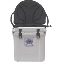 This offers several accessories to maximize your cooler's performance. Give your backrest while at the beach, ball-park, or campground with this soft chair for our Elite Series coolers. This soft seat features our exclusive Perimeter Attachment System (PAS) which requires no drilling or any other disfigurement of your cooler - just attach it to the mounting hardware included, and you are ready to go. Comfortable supportive foam, cushions your back and bottom snugly on top of your cooler while...