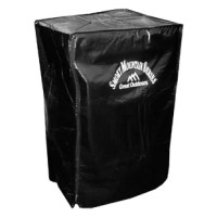 Waterproof and weather-resistant, the Smoky Mountain 26 in. Electric Smoker Cover is a must-have for protecting your favorite outdoor smoker. Designed specifically for the Smoky Mountain 26 in. Electric Smoker, this heavy-duty PVC cover perfectly slips over every contour and fastens tight with integrated drawstrings so no wind can budge its all-over protection. The black cover with white Smoky Mountain Series logo defends the smoker from all the elements and keeps out dirt, dust, and blocks out...