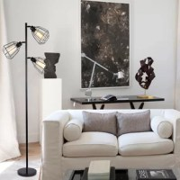 If you are looking for a unique eye-catching statement piece for your space, then this 65-inch Track Tree Floor Lamp will be just what you want. Its industrial-style looking will bring you with extra elegance while the retro light blubs create a comforting and mesmerizing lighting atmosphere. Equally at home illuminating the living room or bringing a retro glow to your study, this charming design is a must-have addition to a contemporary space.  If you need a replacement bulb, please search for...