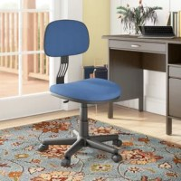 Perfect pulled up to your study desk or craft table, this product makes any workday a breeze. Adjust the seat to the perfect height, and use its caster base to roll around to different projects with ease.