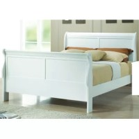 Rodney High-profile Footboard Sleigh Bed comes with a slightly higher headboard and a high profile footboard that distinguished this classic style bed. The gentle curves create a soothing look and feel. Crafted from wood veneer and tropical hardwoods, this bed ensures great stability and longer use. It is a stunning addition to any bedroom. This collection includes a bed, dresser, chest, nightstand and dresser mirror. All these products are optional and sold separately.