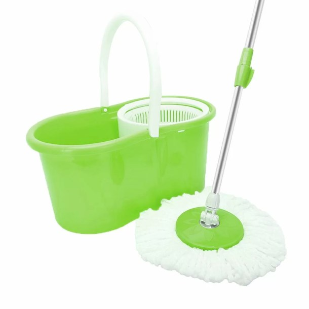 360° Spin Floor Mop and Bucket System