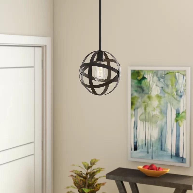 Prange 1 - Light Single Globe Pendant
