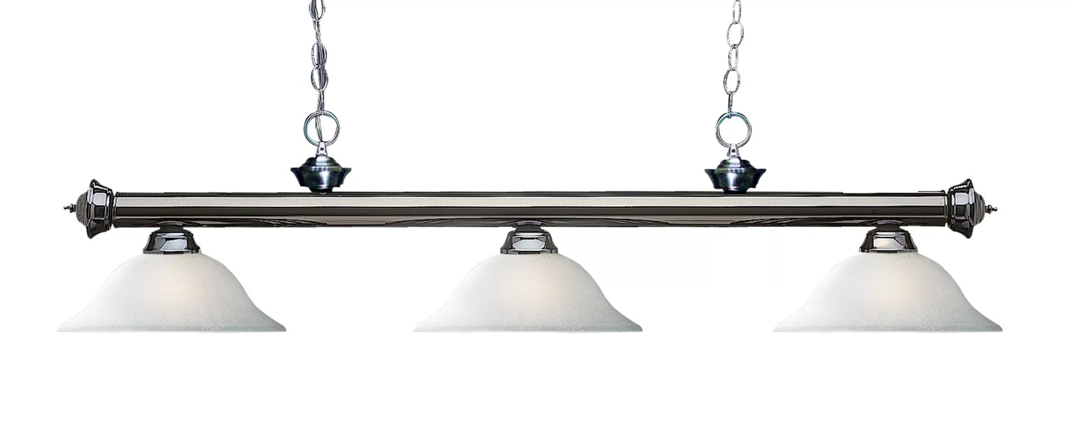 Brynlee 3-Light Pool Table Lights Linear Pendant