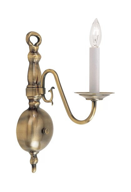 Pogue 1-Light Candle Wall Light
