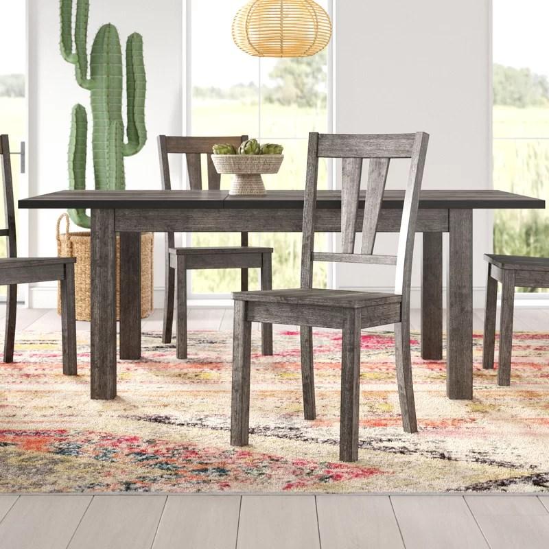 Katarina 5 Piece Extendable Solid Wood Dining Set