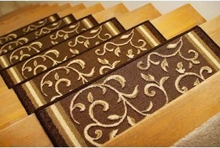 Non Slip Backing Stair Tread Rugs You Ll Love In 2020 Wayfair | Padded Carpet Stair Treads | True Bullnose Carpet | Carpet Runners | Staircase Makeover | Dog Cat Pet | Stair Risers