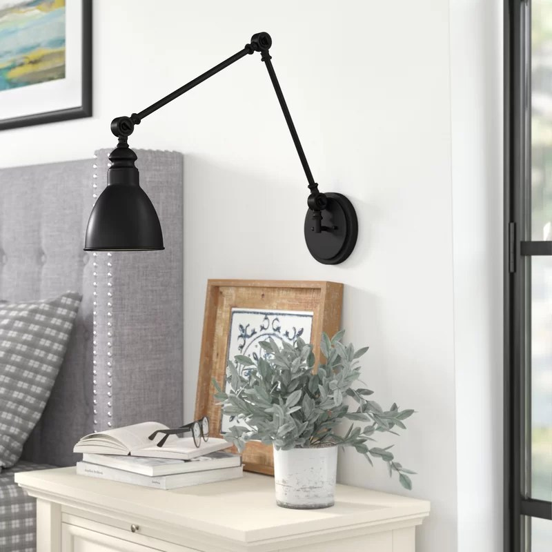 Abagail 1 - Light Dimmable Swing Arm