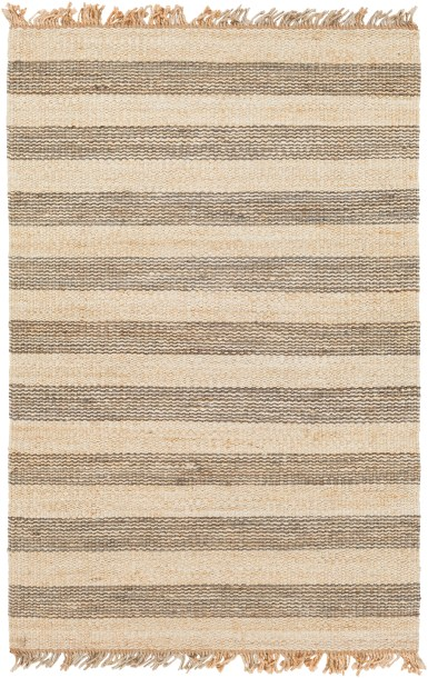 Boughner Hand-Woven Gray/Neutral Area Rug
