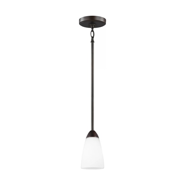 Jaylene 1 - Light Single Bell Pendant