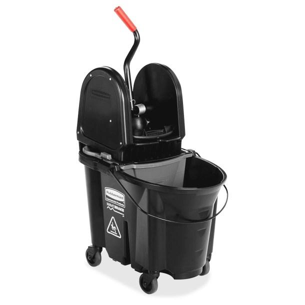 WaveBrake Down Press Mop Bucket with Wringer