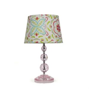 Blush Pink Lamps   Wayfair Blushing Bloom 17  Table Lamp
