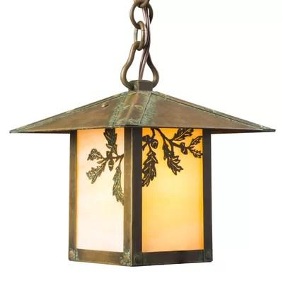 lantern pendant with shade # 54