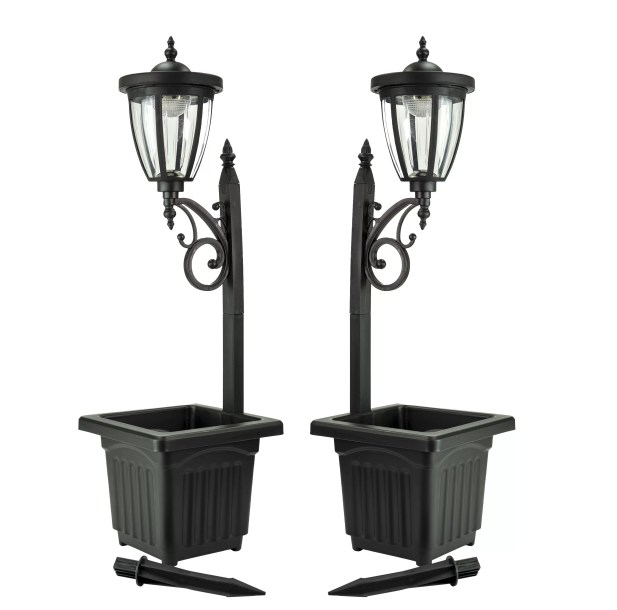 Sun-Ray Kambria Solar 1-Light LED 29'' Lamp Post Light
