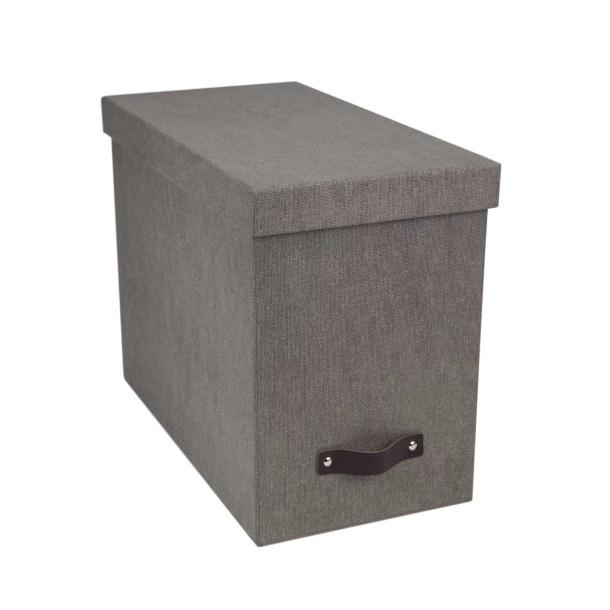 John Desktop File Box for Hanging File