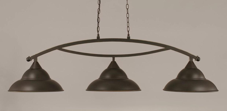 Eisenhauer 3-Light Pool Table Lights Linear Pendant