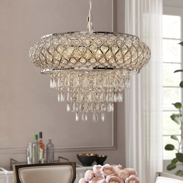 crystal chandelier tiered # 5