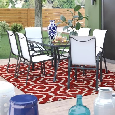 Promo Shropshire 7 Piece Dining Set Furniture Online