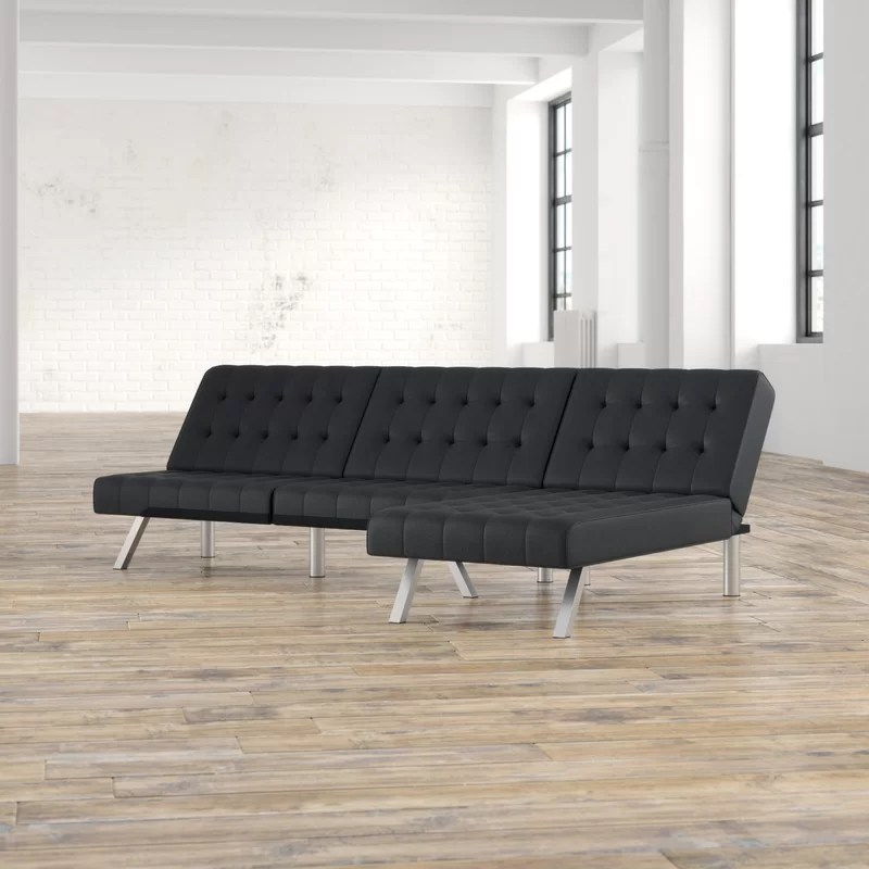 Grey Leather Sectional Sofa Reclining