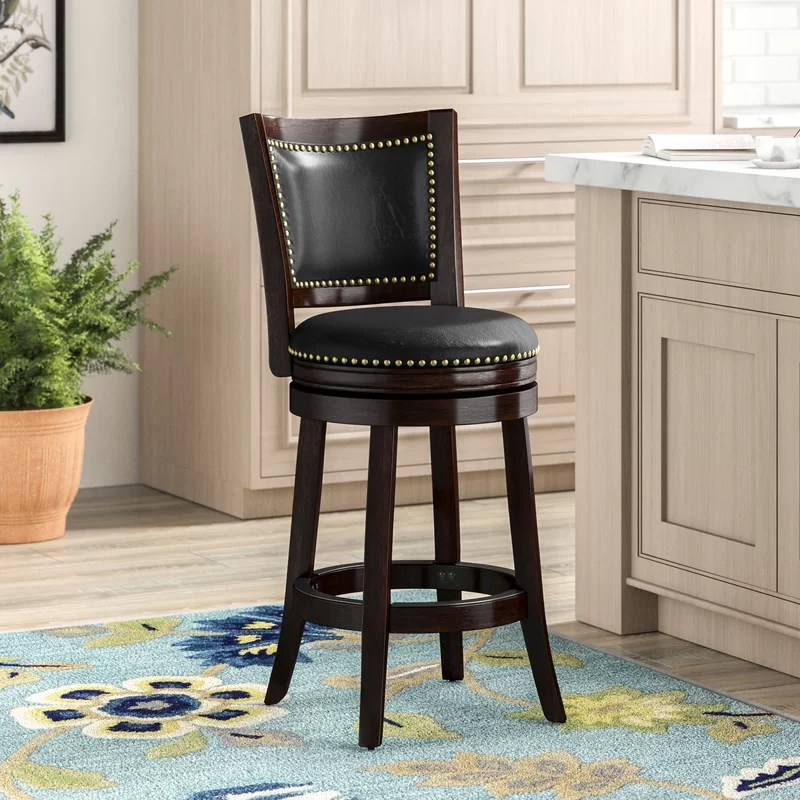Adelene Swivel Bar & Counter Stool