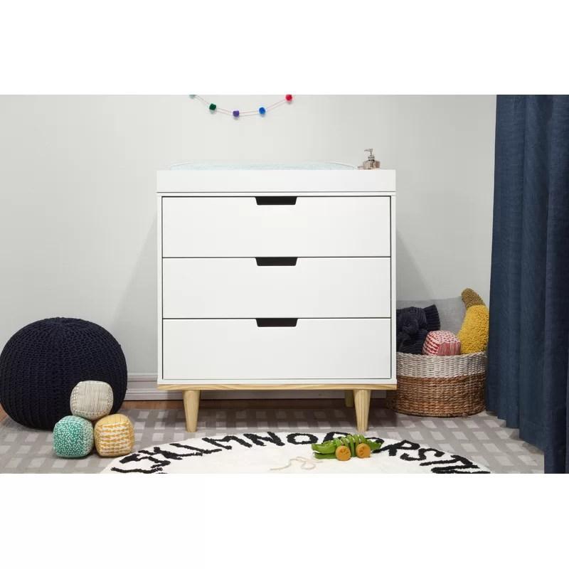 Marley 3 Drawer Changing Table Dresser