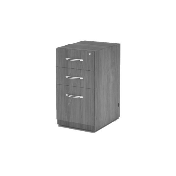 Umstead 22.5 H x 15.25 W Desk File Pedestal