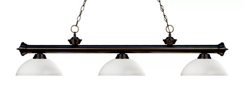 Brynlee 3-Light Pool Table Lights Linear Pendant