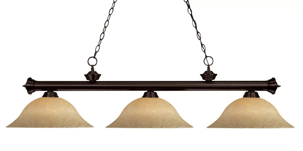 Bessette 3-Light Pool Table Linear Pendant
