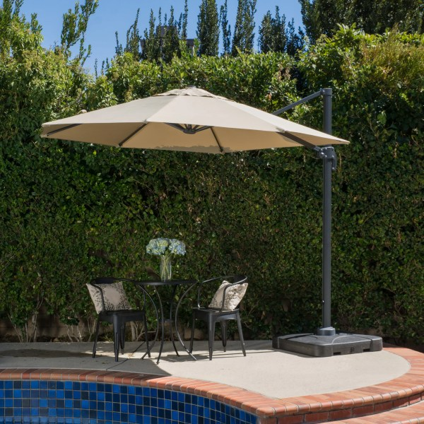 Brayden Studio Markham 10  Cantilever Umbrella   Reviews   Wayfair